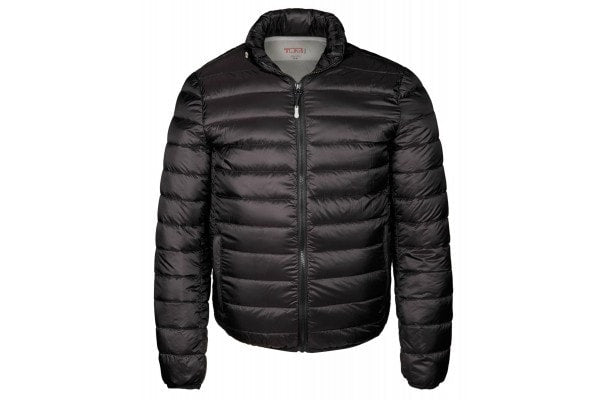 TUMI CONVERTIBLE PUFFER JACKET- BLACK