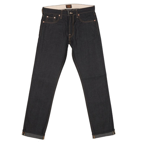 CIVILIANAIRE GOLD SELVAGE DENIM SLIM - INDIGO 10OZ