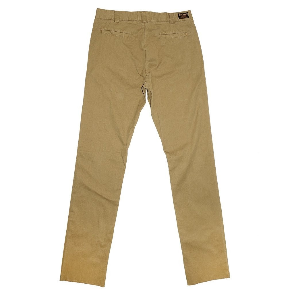 OFFICER CHINOS SLIM FIT TWILL PANTS - CRYSTAL GREEN (KHAKI)