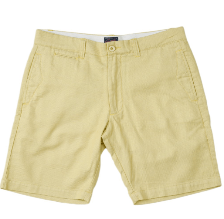 "Gibson Bermuda Club Short 9"" - Yellow"