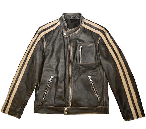 Coats - FRANKLIN ROAD MOTORCYCLE JACKET BY SCULLY LEATHER