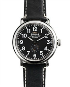 Shinola The Rambler Tachymeter Black Dial 44MM