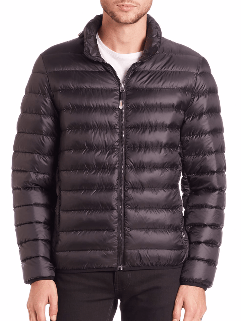 Outerwear - TUMI CONVERTIBLE PUFFER JACKET- BLACK