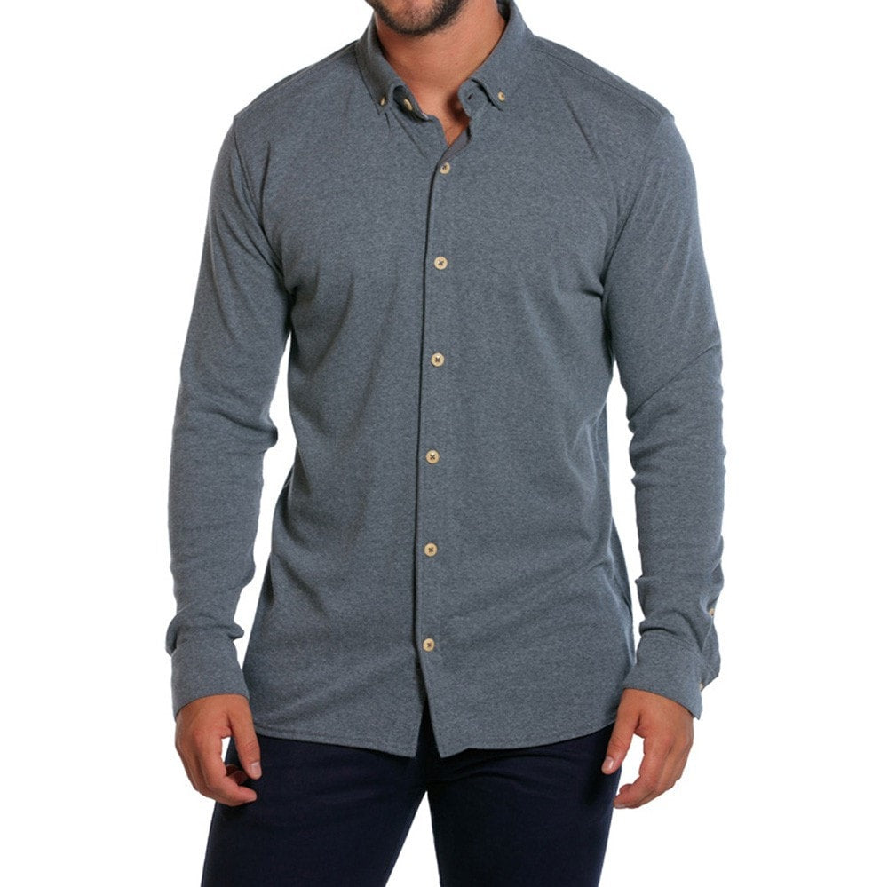 Normal Brand Puremeso Button Up- GREY