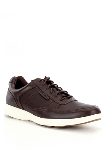 Shoes - COLE HAAN GRAND TOUR SPORT OX- CHESTNUT IVORY
