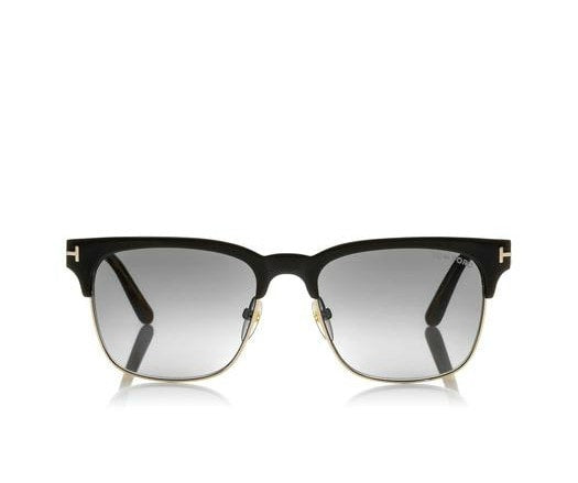 TOM FORD HENRY BLACK GOLD CLUBMASTER 53MM