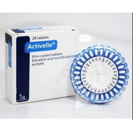 Activelle 1 mg 28 tablets