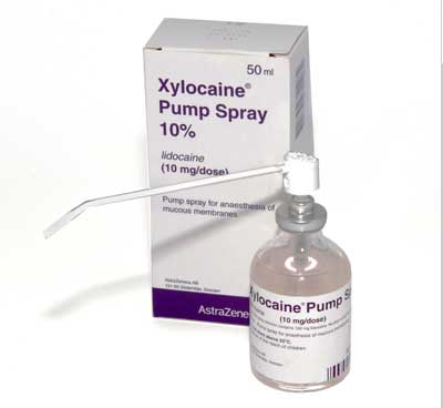 Lidocaine 10% Xylocaine Spray