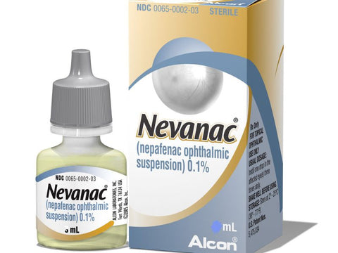Nevanac Eye drops