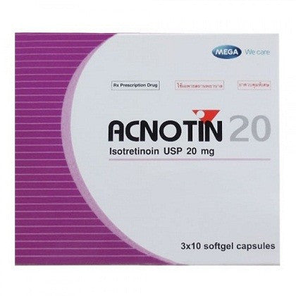 Isotretinoin Capsules Usp 20 Mg Sotret