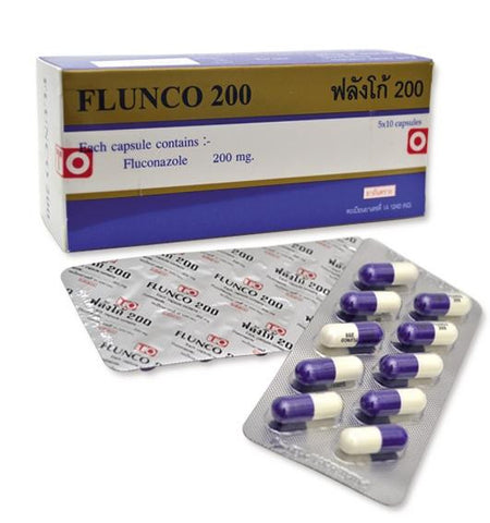 Fluconazole 200 mg Flunco