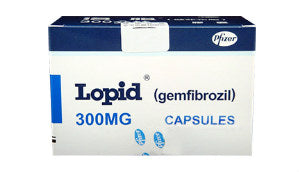 Gemfibrozil 300 mg Lopid