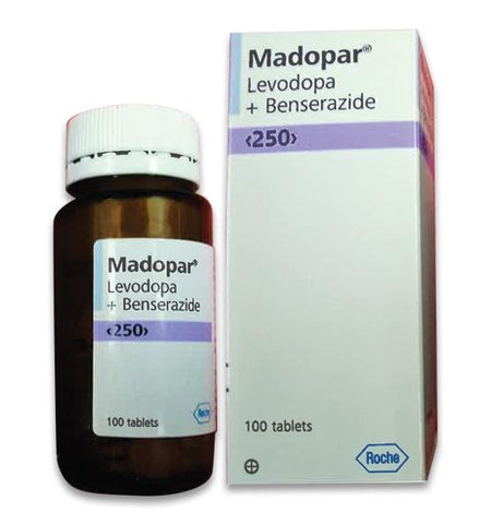 Levodopa 200 mg and Benserazide 50 mg Madopar