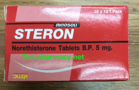 Norethisterone 5 mg Steron