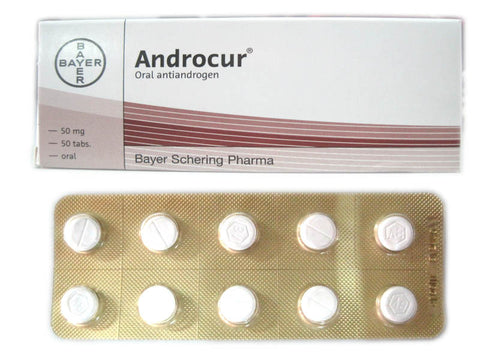 Cyproterone acetate 50 mg Androcur