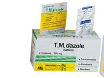 Tinidazole 500 mg TM dazole Tindamax
