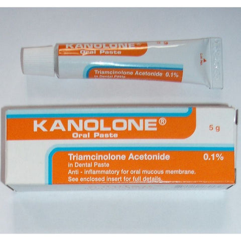 Triamcinolone acetonide 1.0 mg Dental Paste Kanolone
