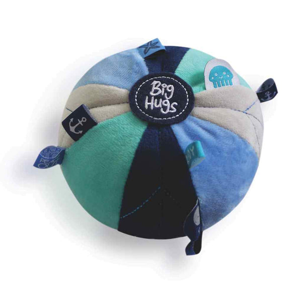 BLUE SENSORY BALL Big Hugs Plush O.B. Designs