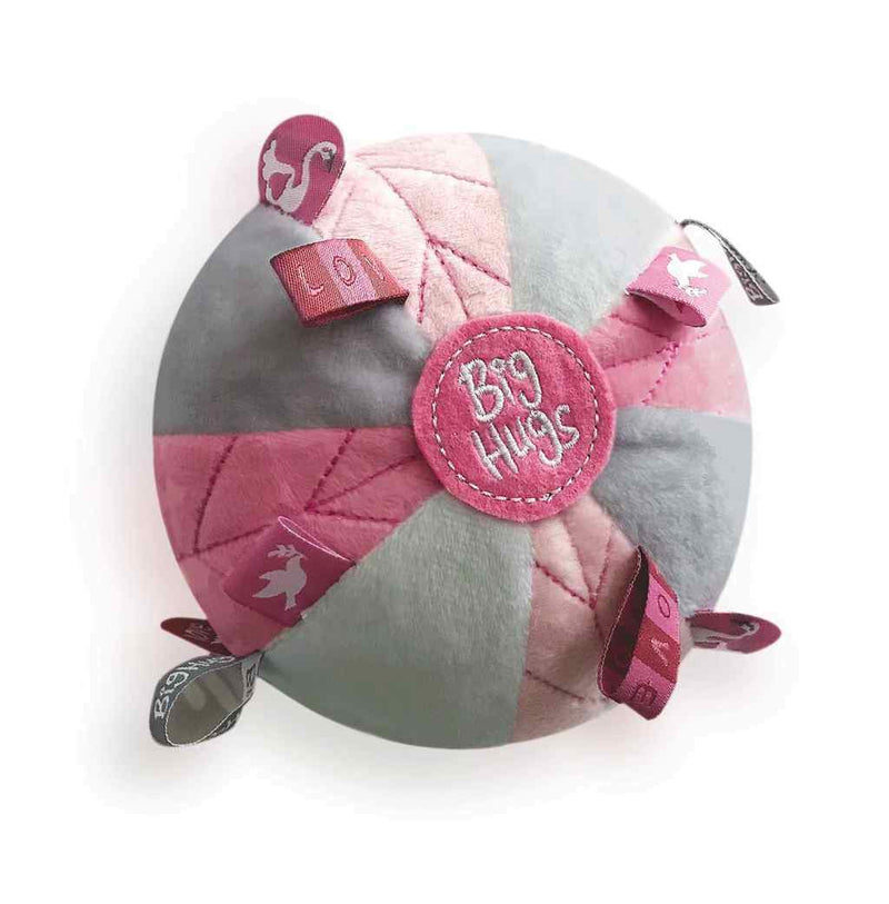 PINK SENSORY BALL Big Hugs Plush O.B. Designs