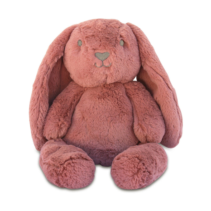 Stuffed Animals | Soft Plush Toys Australia | Dusty Pink Bunny- Bella Bunny Huggie O.B. Designs Baby Toys - Plush Toys - Crochet Blankets Ethically Made