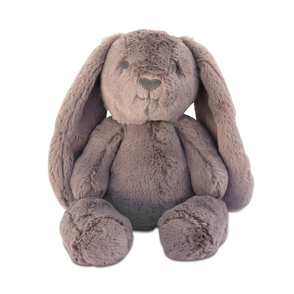 Bunny Soft Toy Australia | Stuffed Animals |  Plush Toys | Earth Taupe Bunny - Byron Bunny Huggie Big Hugs Plush O.B. Designs