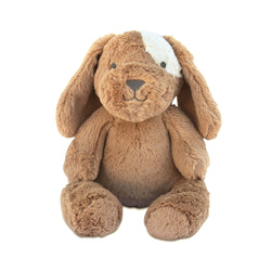 Stuffed Animals | Soft Plush Toys Australia | Taupe Dog - Duke Dog Huggie Big Hugs Plush O.B. Designs