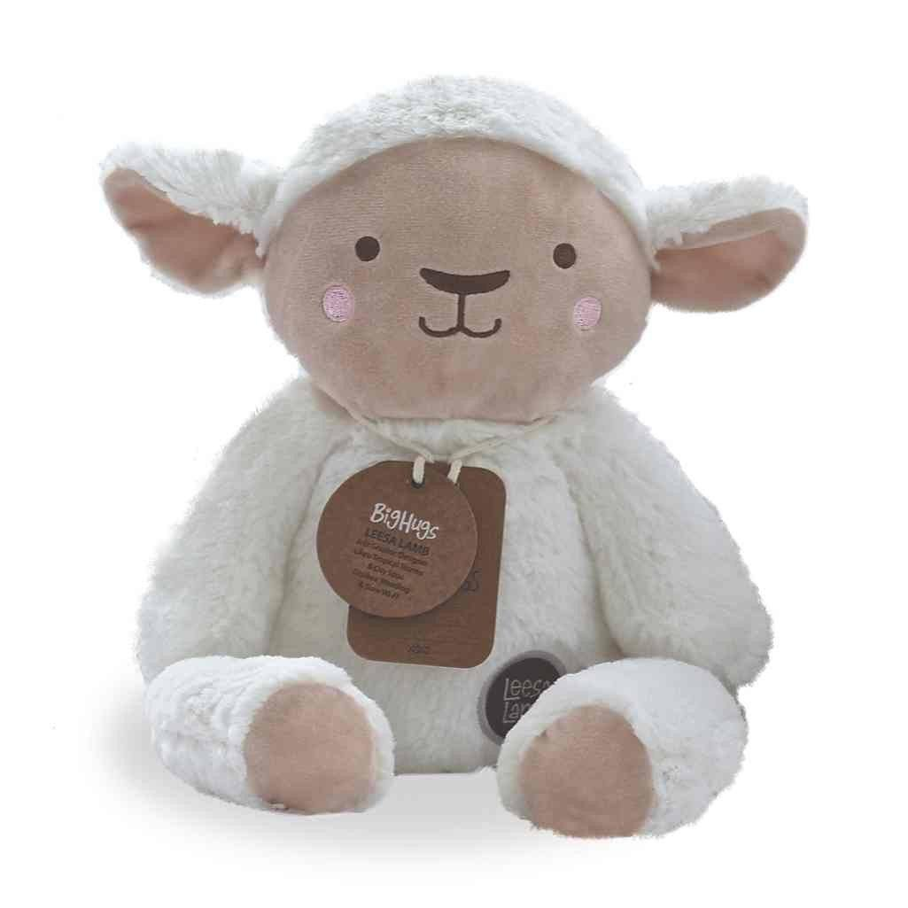more on Stuffed Animals | Soft Plush Toys Australia | White Lamb - Lee Lamb Huggie