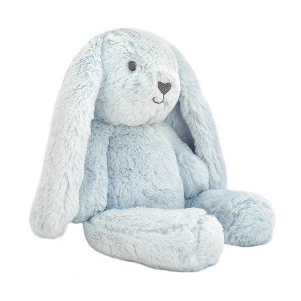 Blue Bunny Stuffed Animal | Plush Toy | Baxter Bunny Huggie Big Hugs Plush O.B. Designs