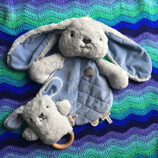 Blue Bunny Baby Gift Set - O.B. Designs