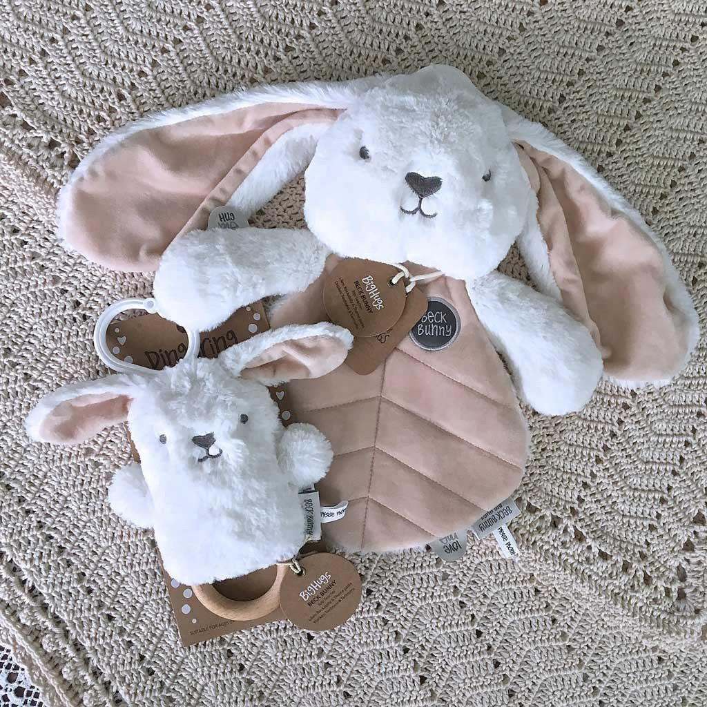 more on Cream Bunny Baby Gift Set