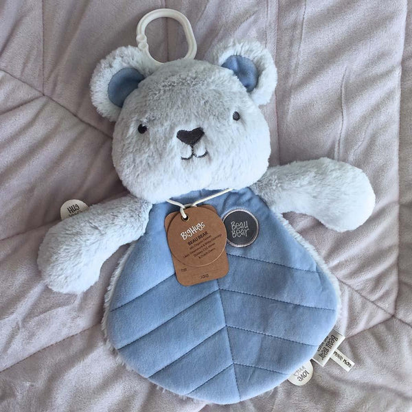 Beau Bear (Blue) Comforter - O.B.Designs USA