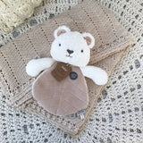 Byron Bear (White) Comforter - O.B. Designs