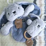 Dingaring & Comforter Set / Blue Bunny - O.B. Designs
