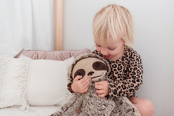 Soft Plush Toys Australia | Sammy Sloth Best Mate | Stuffed Animals Big Hugs Plush O.B. Designs