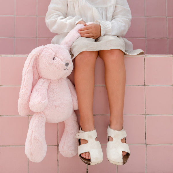 Stuffed Animals | Soft Plush Toys Australia | Pink Bunny- Betsy Bunny Huggie Big Hugs Plush O.B. Designs