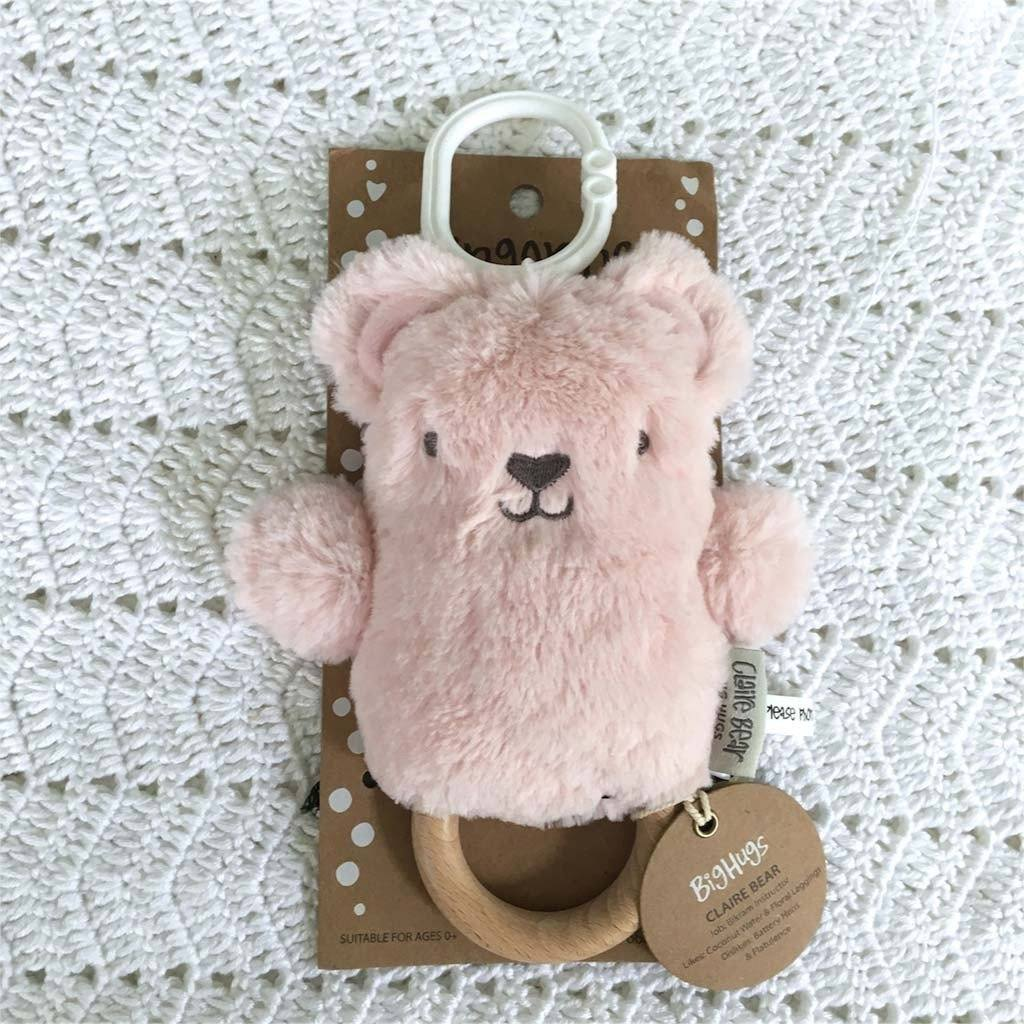 Claire Bear (Pink) Dingaring - O.B. Designs
