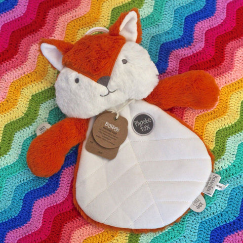 Phoebe Fox (Orange) Comforter