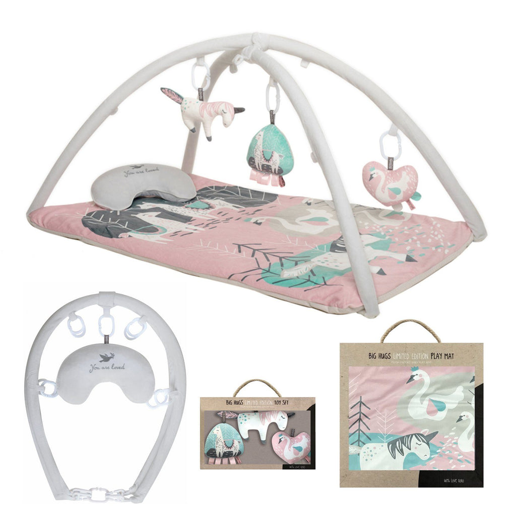 Complete Sweet Romance Playgym Set - O.B. Designs