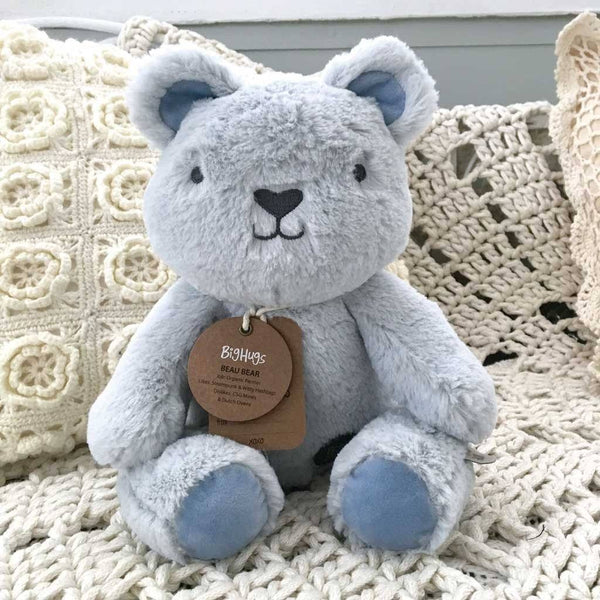 Beau Bear (Blue) Huggie Big Hugs Plush O.B. Designs