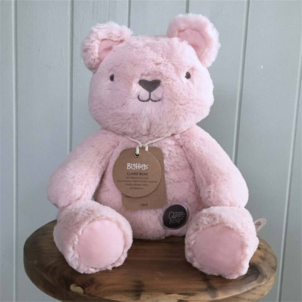 Claire Bear (Pink) Huggie - O.B. Designs