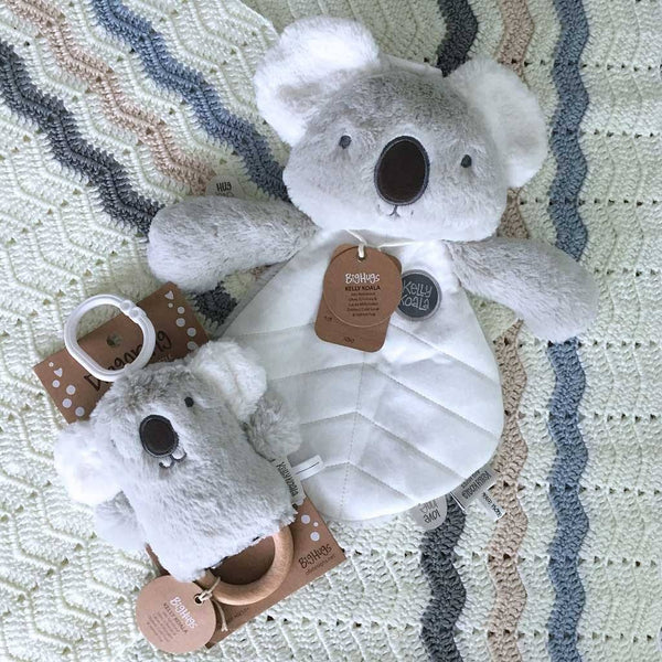 Grey Koala Baby Gift Sets - O.B. Designs