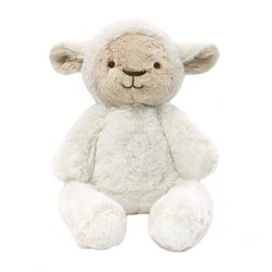 PRE-ORDER for end of July dispatch! Stuffed Animals | Soft Plush Toys Australia | White Lamb - Lee Lamb Huggie Big Hugs Plush O.B. Designs