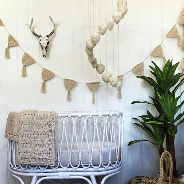 Bohemian Neutral Nursery Set - O.B. Designs