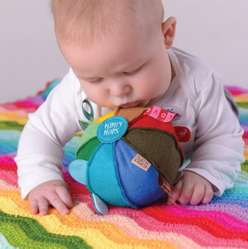 Rainbow Sensory Dingle Ball (Retired) - O.B. Designs