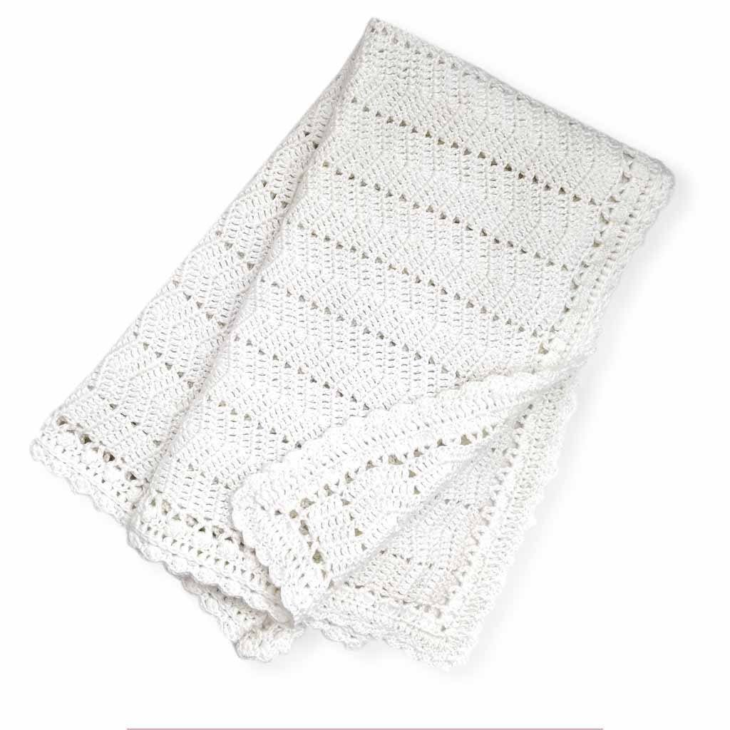 Ripple Blanket White (Shipping end Feb. Early March)