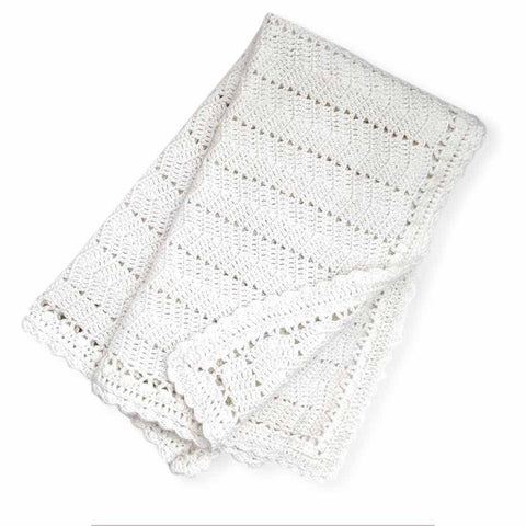 Ripple Blanket White