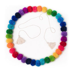 Pom Pom Garland Rainbow Decor Range O.B. Designs