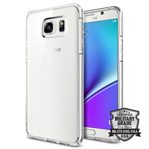 Samsung Galaxy Note 5 Case, Spigen Ultra Hybrid - ICONS