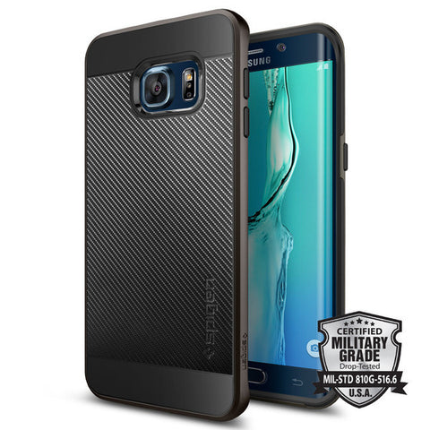 Neo Hybrid Carbon Case for Samsung Galaxy S6 Edge Plus - ICONS