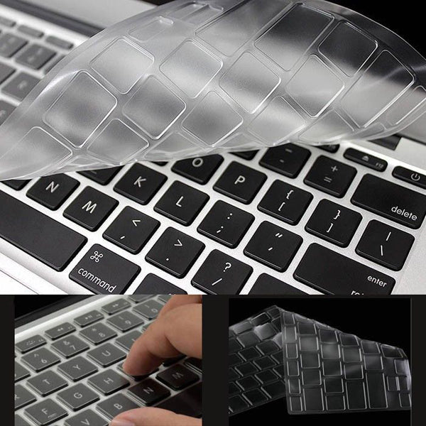 "JCPAL FitSkin Keyboard Protector for MacBook Air 11""(Clear) - ICONS"